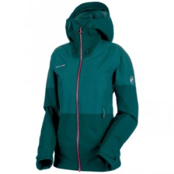 Mammut Alvier HS Hooded 2019 in Teal, X-Small