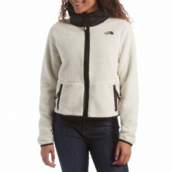 North Face Dunraven Sherpa Crop 2019 in White, Medium
